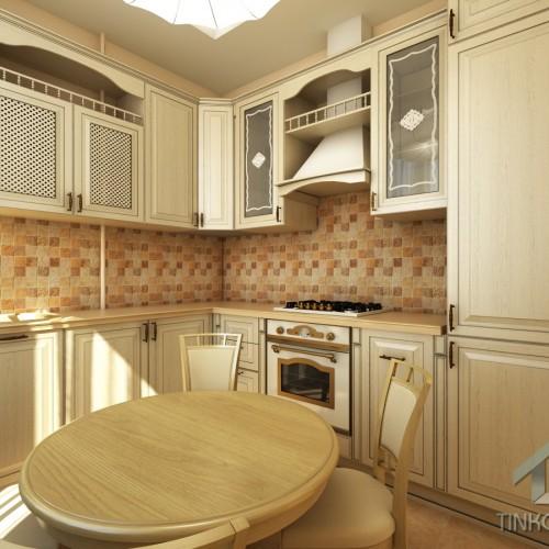 Дизайн кухни в 3-х комнатной квартире