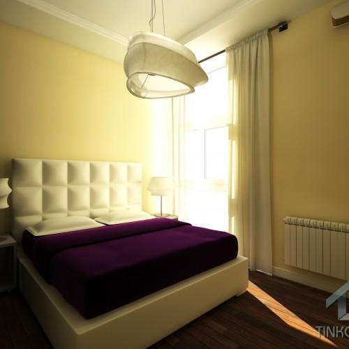 Интерьер гостевой спальне в современном стиле