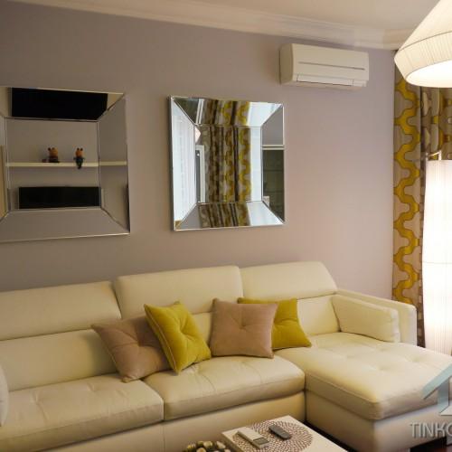 Интерьер гостиной в эклектическом стиле