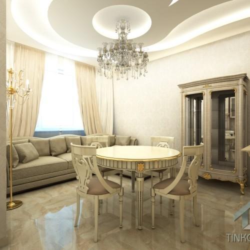 Интерьер столовой в стиле барокко