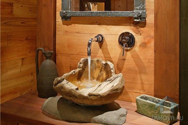 Ванная в этническом стиле