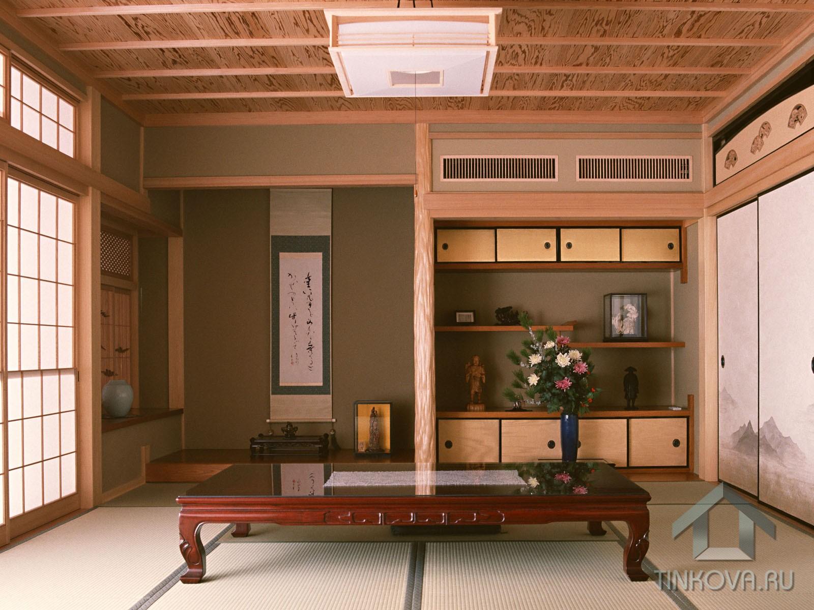 Столовая в японском стиле